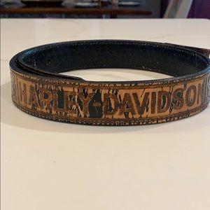 Men's HD leather belt